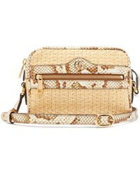 43ee1e1c6 Gucci Dionysus Appliquéd Printed Coated-canvas And Watersnake ...