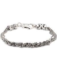 Emanuele Bicocchi - Multi Knot Chain Bracelet - Lyst