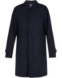 Burberry - Manteau en laine et cachemire - Lyst