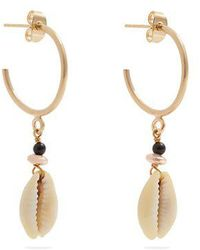 Isabel Marant - Seashell Hoop Earrings - Lyst