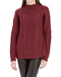 Leon Max - Heathered Wool And Alpaca Pullover Sweater - Lyst