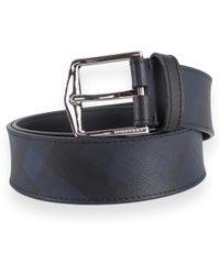 Burberry Blue Pvc Belt