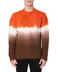 Ballantyne - Multicolour Wool Jumper - Lyst