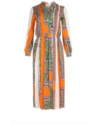 2d2364bd97d Tory Burch - Multicolor Synthetic Fibers Dress - Lyst