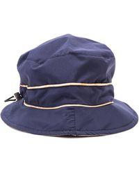 Alviero Martini 1A Classe - Blue Cotton Hat - Lyst