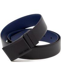 Antony Morato - Black Leather Belt - Lyst