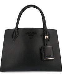 Prada Black Leather Handbag