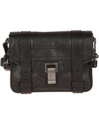 Proenza Schouler Black Leather Shoulder Bag