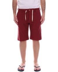 Cruna - Red Cotton Shorts - Lyst