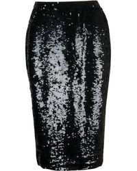 P.A.R.O.S.H. - Black Polyamide Skirt - Lyst