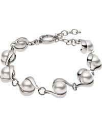Skagen - Silver Steel Bracelet - Lyst