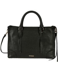 Rebecca Minkoff - Black Leather Handbag - Lyst
