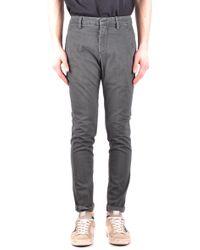 Dondup - Beige Cotton Jeans - Lyst