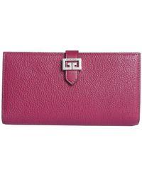 eb198ed9a998 Lyst - Louis Vuitton M60708 Monogram Portefeuille Josephine Fuchsia ...