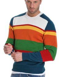 Etro - Multicolour Cotton Jumper - Lyst