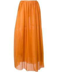 Forte Forte - Pleated Front Skirt - Lyst
