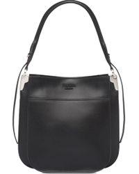 727ddecefa7c Lyst - Prada Saffiano Promenade Handbag Nero in Black