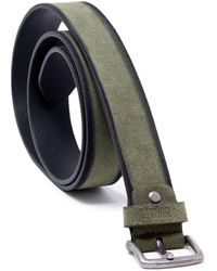 Antony Morato - Green Suede Belt - Lyst