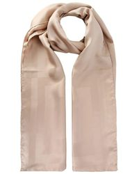 Givenchy - Beige Silk Scarf - Lyst