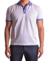 Ballantyne Men's Mcbi032021o Multicolor Cotton Polo Shirt - Purple