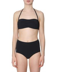 954abfd9e6a Tory Burch - Black Polyamide One-piece Suit - Lyst