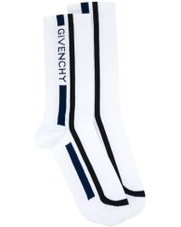 Givenchy - Socks With Logo - Lyst