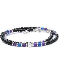 Isaia Black Other Materials Bracelet