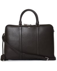 Tod's - Brown Leather Briefcase - Lyst