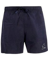 afd8ac93669c0 Lyst - Paul & Shark Classic Swim Short Navy in Blue for Men