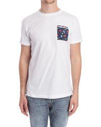 Roda - White Cotton T-shirt - Lyst