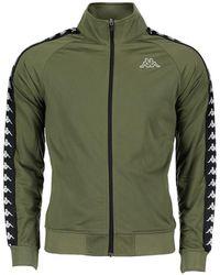 Kappa - Green Polyester Jacket - Lyst