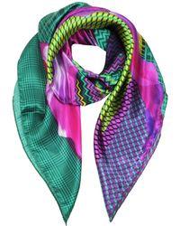 Marina D'este - Multicolor Silk Foulard - Lyst