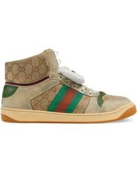 2f51a3cbd86 Gucci Coda High-top Sneaker in White for Men - Lyst