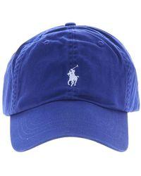 Ralph Lauren Blue Cotton Hat