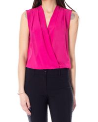 Rinascimento Red Polyester Tank Top