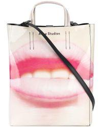 Acne Studios White Acrylic Handbag
