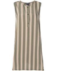 Woolrich - Beige Viscose Dress - Lyst