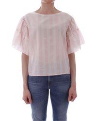 iBlues Pink Viscose Blouse