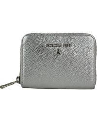 5a7049f186 Chanel Bifold Long Wallet Quilted Calfskin Leather Silver in Metallic - Lyst