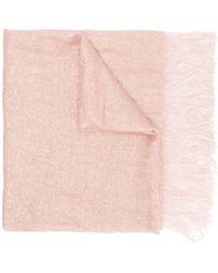 Forte Forte - Pink Silk Scarf - Lyst