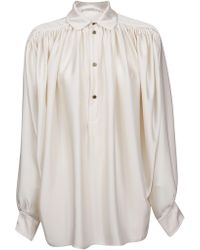 Philosophy - White Polyester Blouse - Lyst