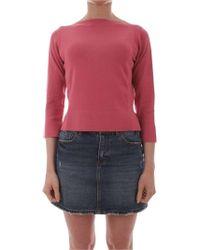 iBlues Pink Viscose Sweater