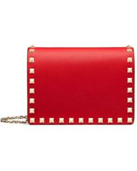 Valentino Red Leather Wallet