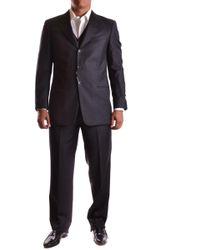 Armani - Men's Mcbi024039o Grey Wool Suit - Lyst