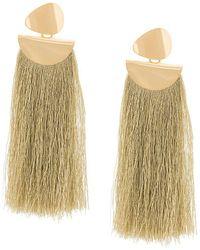 Lizzie Fortunato | Eagle Tassel Earrings | Lyst