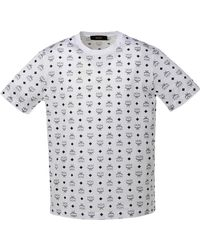 9d34c9d46 MCM - Visetos Print T-shirt - Lyst