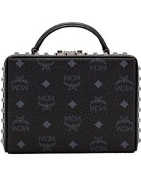 MCM - Berlin Crossbody In Visetos - Lyst