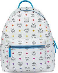 MCM - Stark Backpack In Skyoptic Stud Visetos - Lyst