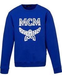 MCM - Logo Sweatshirt - Lyst
