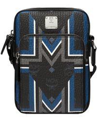 MCM - Traveller Messenger In Gunta M Stripe Visetos - Lyst